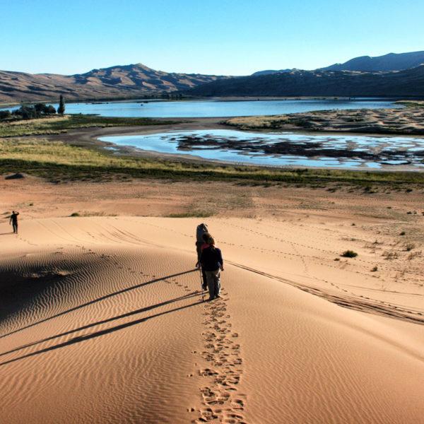 The Badain Jaran Desert Contains More Than 140 Lakes