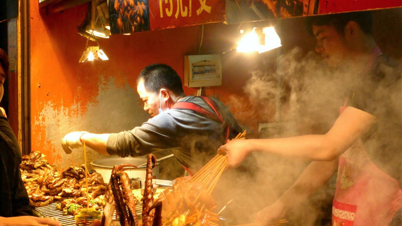 Gulangyu food street
