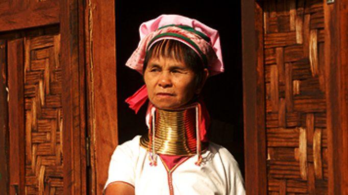 Karen Lady, Inle Lake, Myanmar