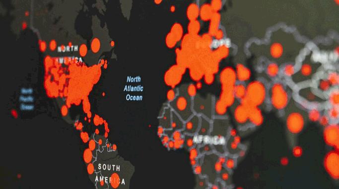 Coronavirus, COVID19 map
