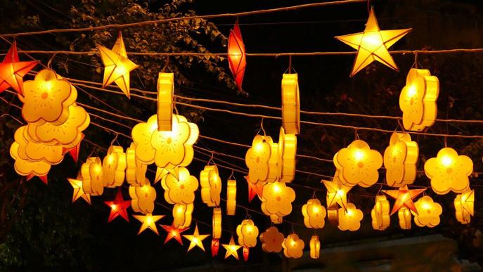 Vietnam celebrating lunar new year