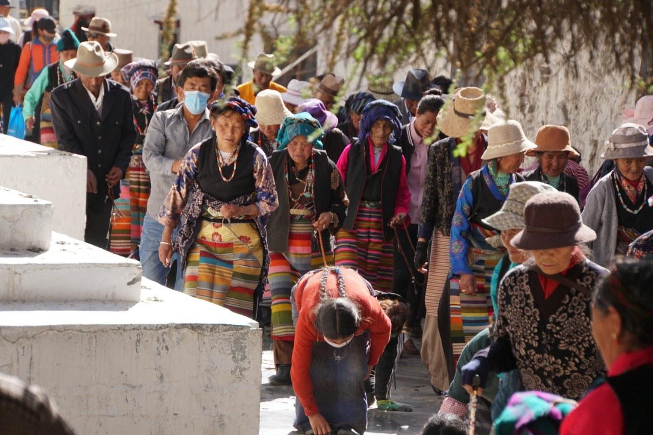 Tibetan pilgramage