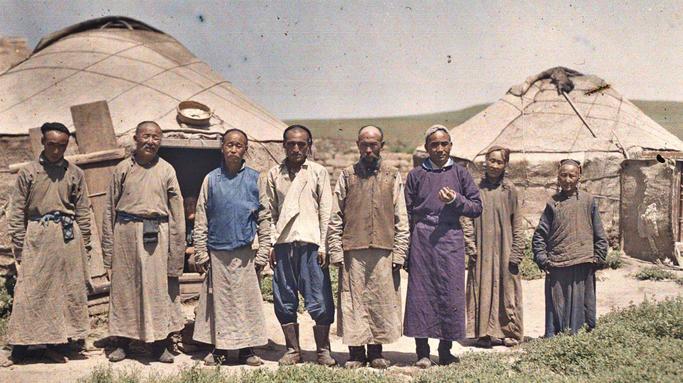 Inner Mongolians in 19 century