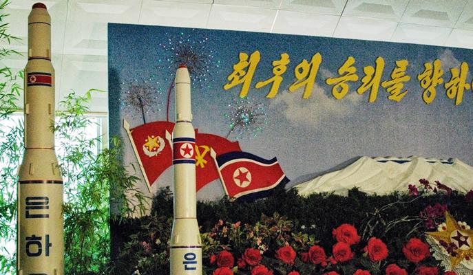 Nort Korea, unha_9_rocket_model