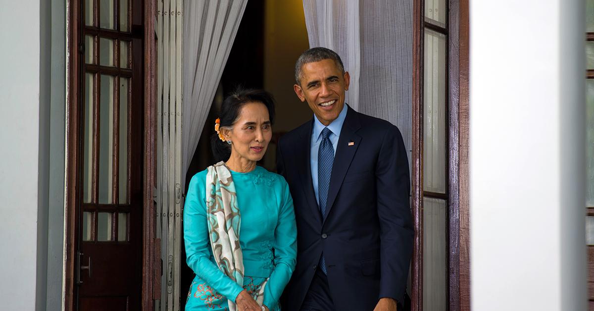 President Obama visiting Myanmar