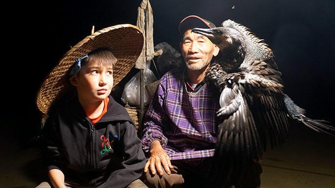 Yangshuo Cormorants Fishing