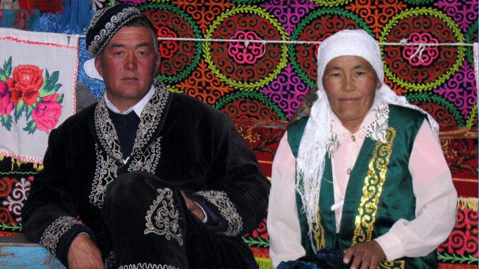 Kazakh Couple