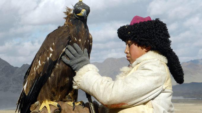 Young Eagle Hunter