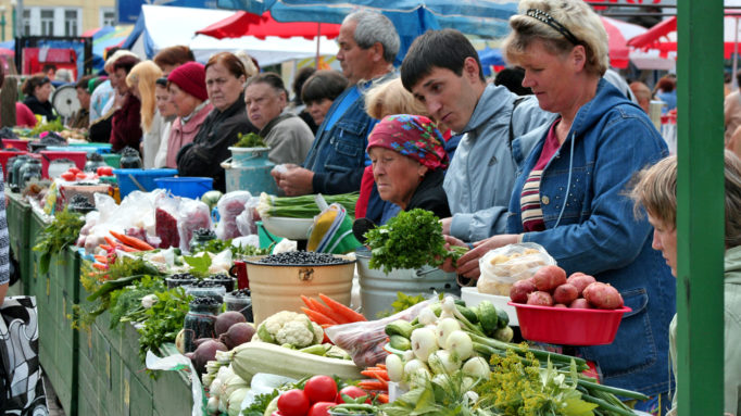 Irkutsk Market