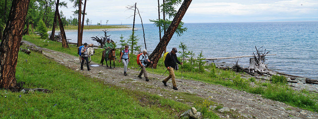 Trekking_Lake_Khovsgol 2021