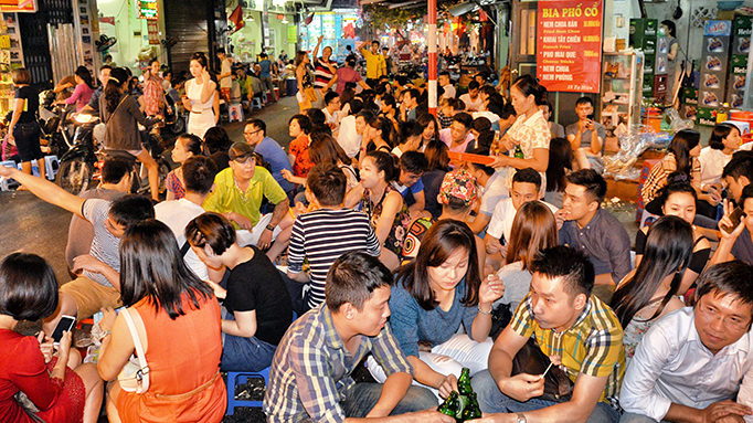 Eating At The Night Market