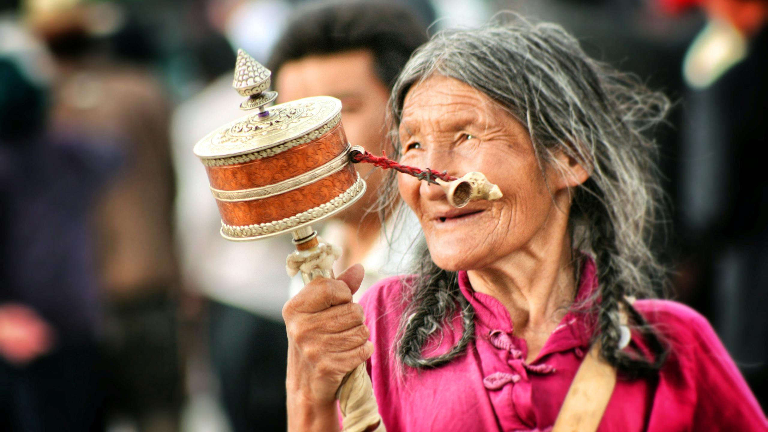 Jokhang pilgrim